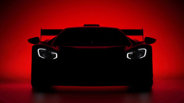 Ford GT WEC hypercar teaser