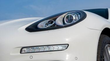 Porsche Panamera Diesel LED lights
