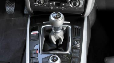 Audi S5 Sportback gear lever console