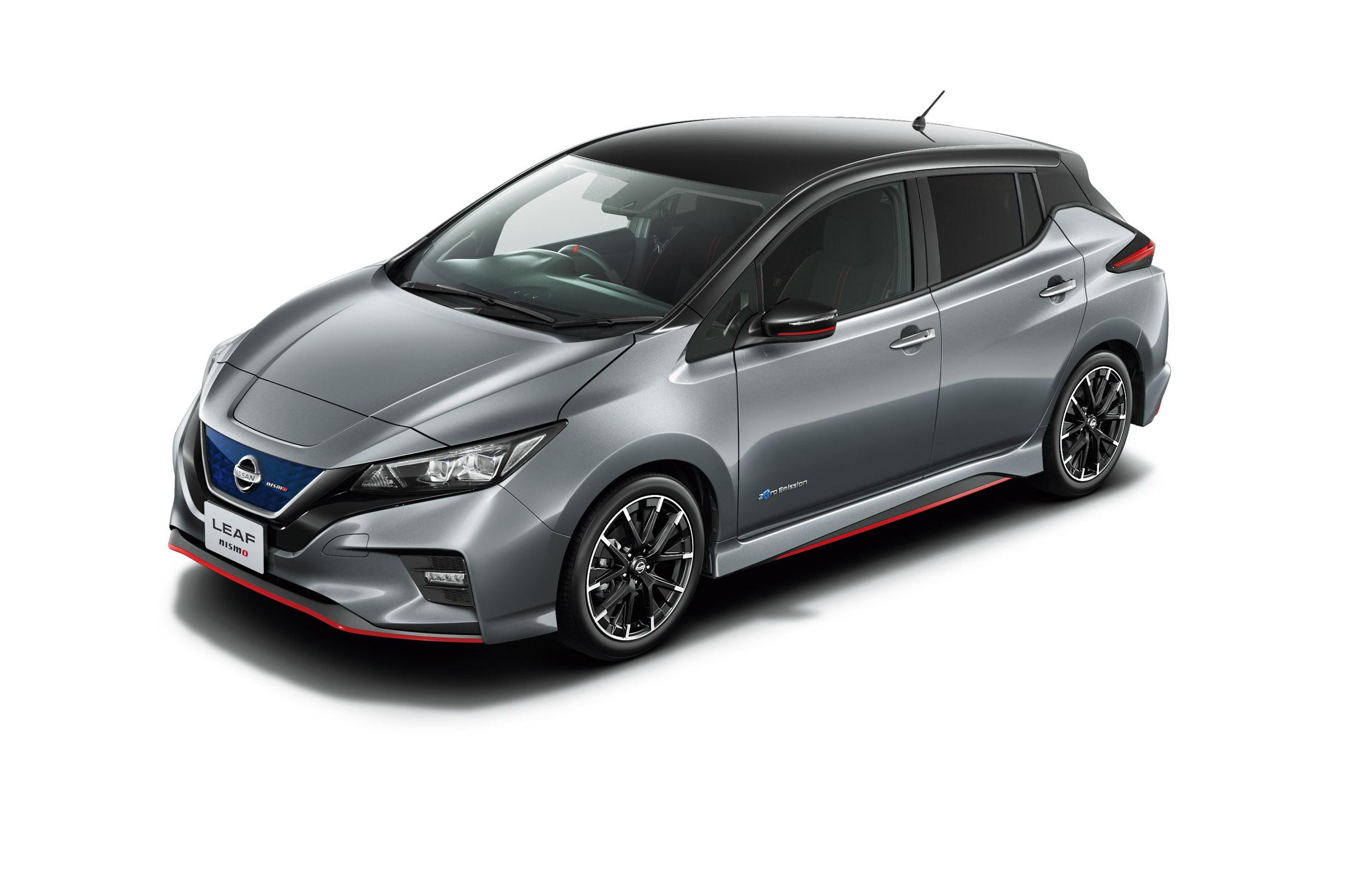 Nissan Leaf Nismo - Electric hot hatch debuts in Japan   Evo