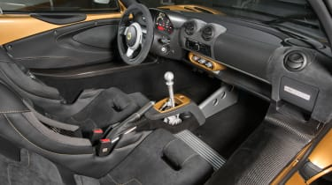 Lotus Elise 260 Cup - interior