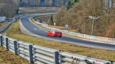 OPC Insignia testing - rear