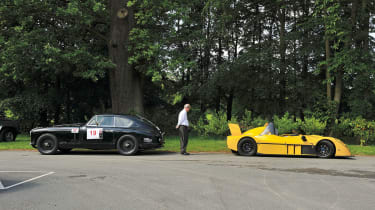 Radical SR3 SL on the Tour Britannia