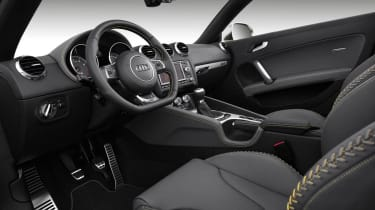 Audi TTS Competition interior