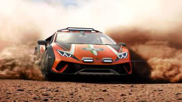 Lamborghini Huracan Sterrato - side