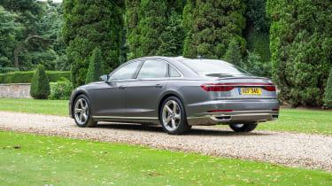 Audi A8 UK - rear quarter static