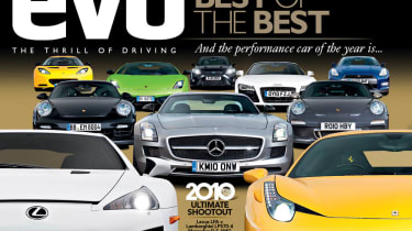 evo issue 152 - Car of the Year - on iPad