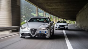Alfa group test in Italy - tunnes