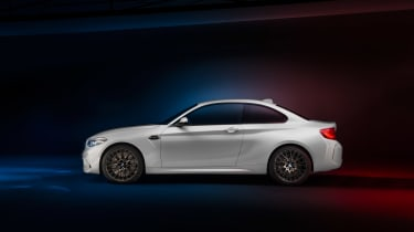 BMW M2 Competition Pack - evo side