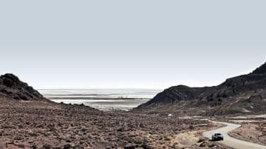 Bentley Mulsanne on Utah roads