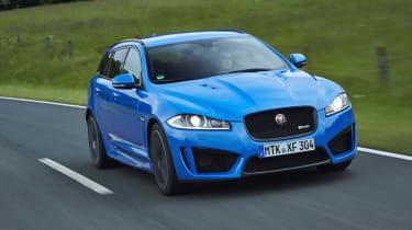 Jaguar XFR-S Sportbrake sport blue