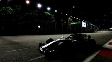 F1 Singapore - Williams