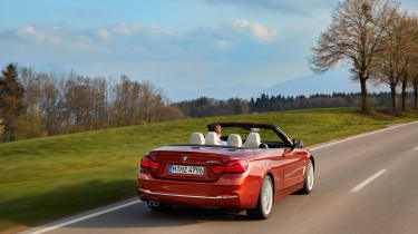 2017 BMW 4 Series Convertible - Rear
