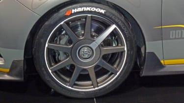 Vauxhall Astra VXR Extreme alloy wheel tyre