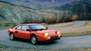 Ferrari Mondial, with automated clutch