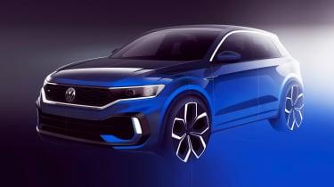Volkswagen T-Roc R sketch