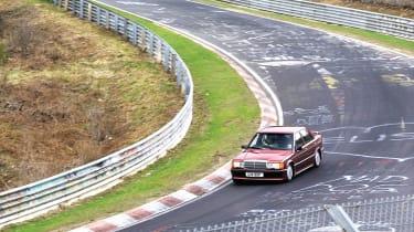 Mercedes-Benz 190E 2.5-16 - Front