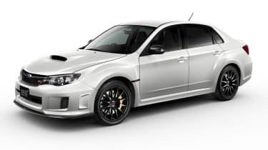 Subaru Impreza WRX STI tS Type RA Pearl White
