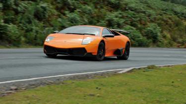 Lamborghini V12 group test Wales - Murcielago