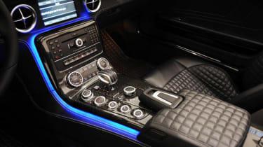 Brabus SLS AMG Roadster interior
