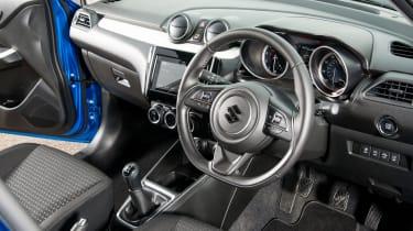 Suzuki Swift SZ5 - interior