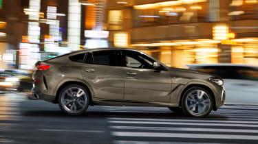 New BMW X6 side