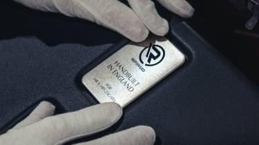 Aston Martin V12 Vantage Zagato R-Reforged badge