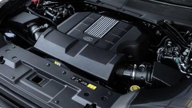 Land Rover Defender V8 MY22 - engine bayLand Rover Defender V8 MY22 -