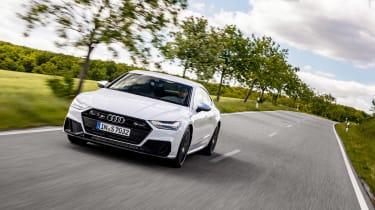 Audi S7 TDI - front quarter