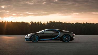 Bugatti Chiron '42' record breaker - profile
