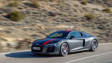 Audi R8 RWS - front quarter