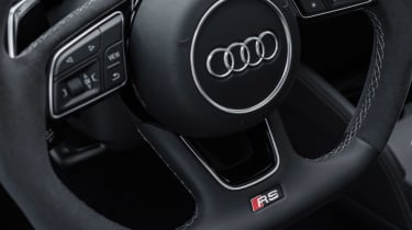 Audi RS3 Saloon Red interior