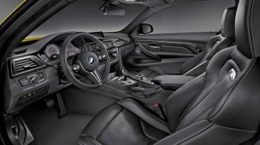 New BMW M4 interior
