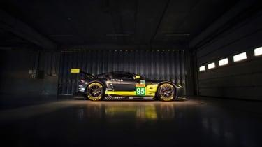WEC 2017 - Aston Martin V8 GTE profile