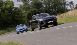 Porsche Macan Turbo v BMW M3