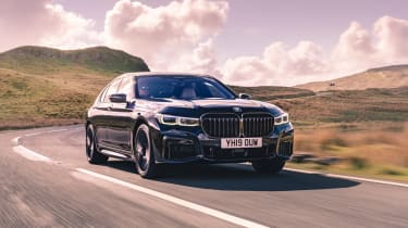 BMW 7-series 2019 front
