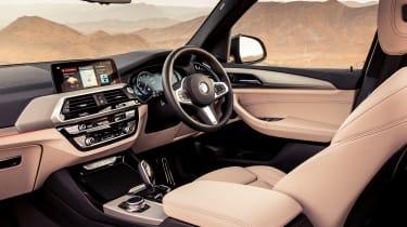 BMW X3 30d M Sport - interior