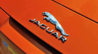 Jaguar F-type V8 S badge