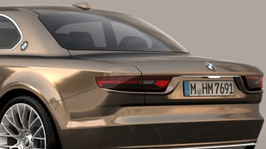 BMW CS Vintage Concept rear styling