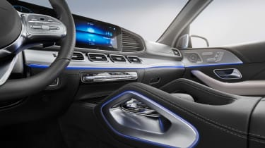 Mercedes GLE AMG-line - interior
