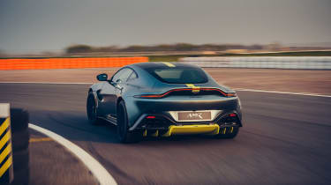 Aston Martin Vantage AMR revealed - rear