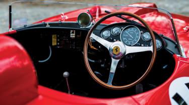 1956 Ferrari 290 MM interior