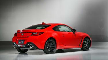 2022 Toyota GR86 - rear quarter