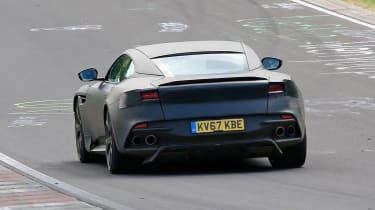 Aston Martin DBS Superleggera Prototype – Rear