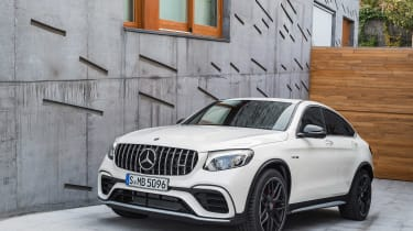 Mercedes-AMG GLC 63 Coupe front three quarter