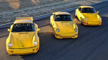 Porsches on sale at Amelia Island