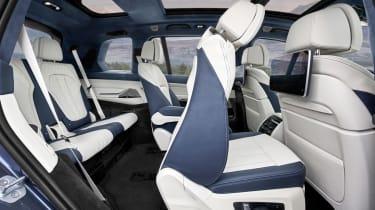BMW X7 - seats