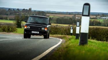 Bishops Heritage Range Rover – cornering