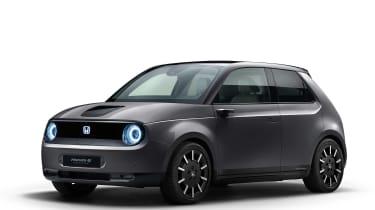 Honda e Prototype grey