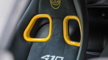 Lotus Exige Sport 410 – seat